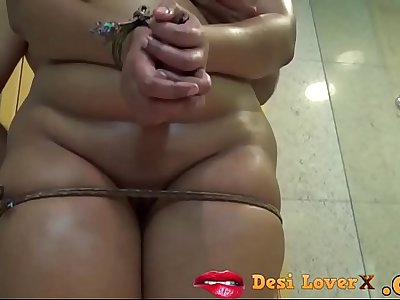 BDSM Roleplay Indian Wife Massage